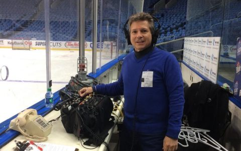 2016-12 Buffalo Sabres Shootout with 7 Wireless Mics flying